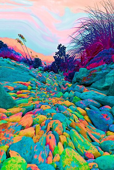 Pathway to the Edge Of  Planet Zorg by heatherfriedman
