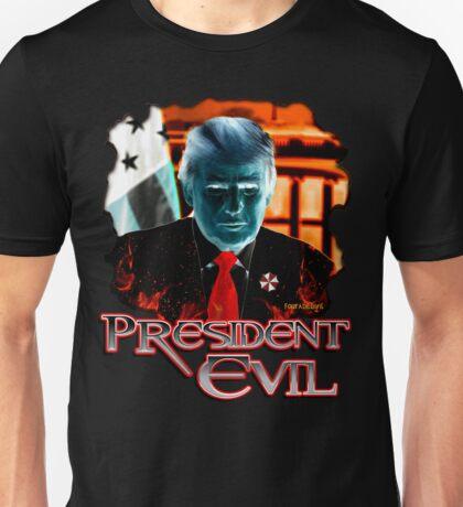 President Evil Unisex T-Shirt