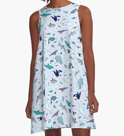 Under the Sea A-Line Dress