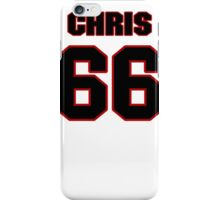 NFL Player Chris Chester sixtysix 66 iPhone Case/Skin