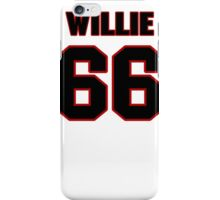 NFL Player Willie Colon sixtysix 66 iPhone Case/Skin