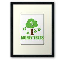 Money trees Framed Print