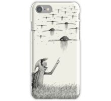 I Saw Drones iPhone Case/Skin
