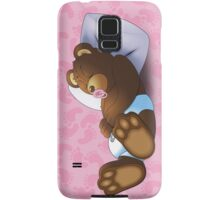 Sleeping Ted - Pink Samsung Galaxy Case/Skin