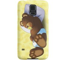 Sleeping Ted - Yellow Samsung Galaxy Case/Skin