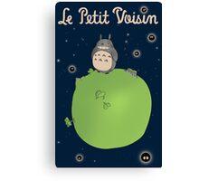 Le Petit Voisin (The Little Neighbour) Canvas Print