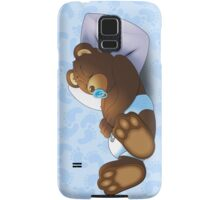 Sleeping Ted - Blue Samsung Galaxy Case/Skin