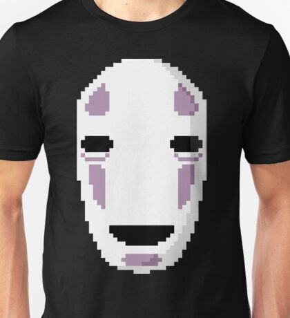 """No Face's Mask Pixel Art"" Ghibli Studio -Spirited Away- Unisex T-Shirt"