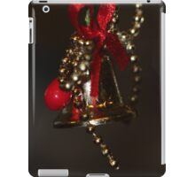Christmas bell iPad Case/Skin