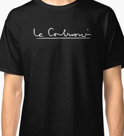LE CORBUSIER SIGNATURE ARCHITECTURE Classic T-Shirt