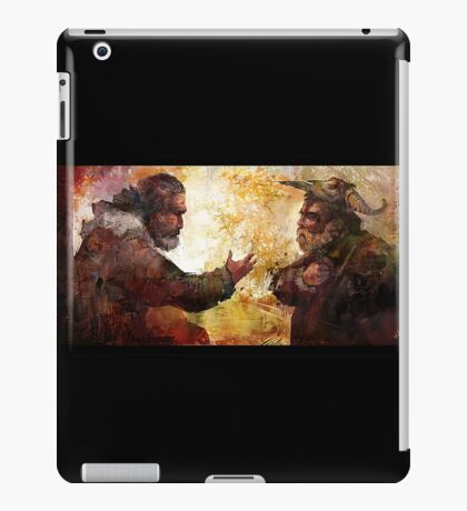 Blessings from the Elder iPad Case/Skin