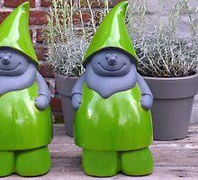 Green pixies by Arie Koene