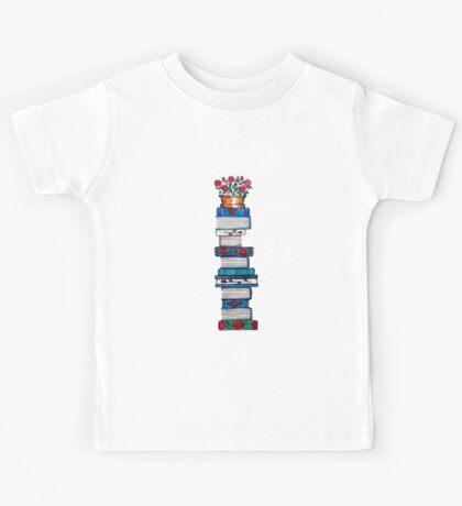 Rosebush & Books Kids Tee