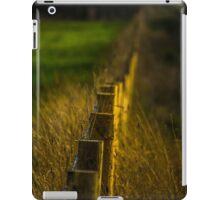 Golden Fence iPad Case/Skin