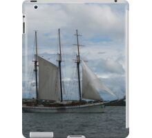 Tall Ships Sailing in the Harbor iPad Case/Skin