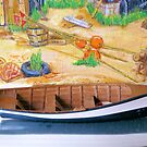 Model boat & painting 3 by Woodie