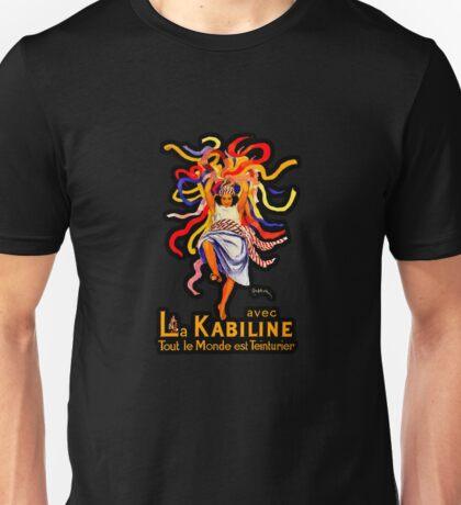 """Art Deco """"La Kabiline"""" Illustration by Leonetto Cappiello Unisex T-Shirt"""