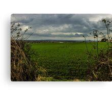 Hidden landscape Canvas Print