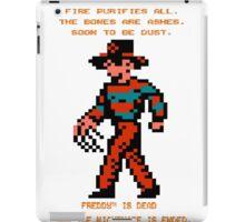 FREDDY Nightmare on Elm Street 8-bit NES iPad Case/Skin
