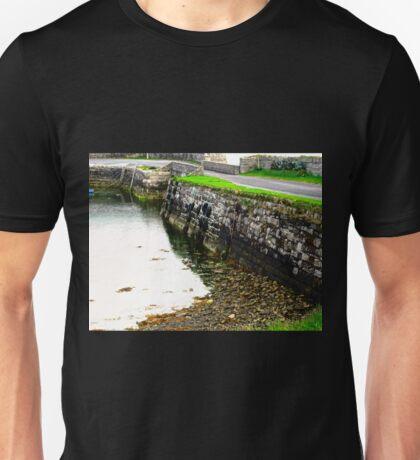 Milk Harbour at low tide, Sligo, Donegal, Ireland Unisex T-Shirt