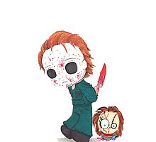 chucky michael myers by Frederico Rodrigues