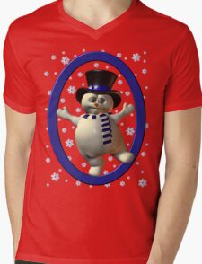 Happy Snowman, tee shirt T-Shirt