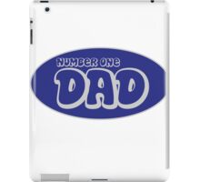 Number one dad iPad Case/Skin