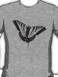 Butterfly Clear T-Shirt