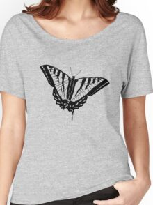 Butterfly Clear Women's Relaxed Fit T-Shirt