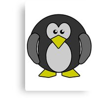Cartoon penguin Canvas Print