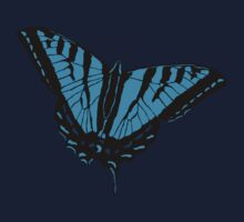 Butterfly - Blue Kids Clothes
