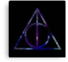 Harry Potter and the Deathly Hallows // triangle Canvas Print