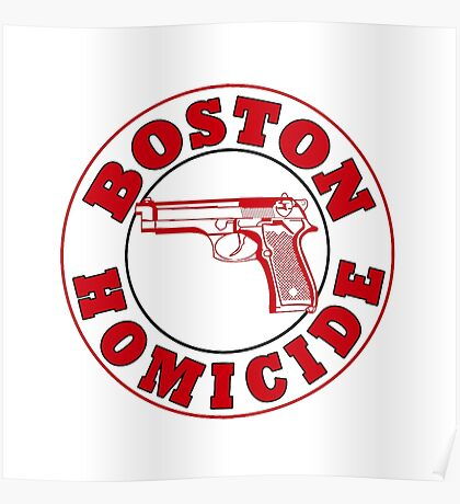 Boston Homicide - Rizzoli And Isles | Baseball Sleeve Poster