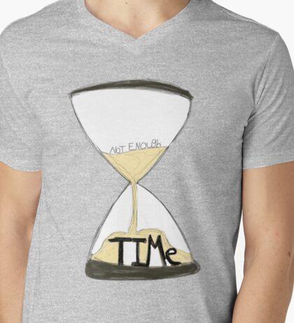 Not Enough Time Mens V-Neck T-Shirt