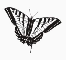Butterfly - White by Alex Sinclair