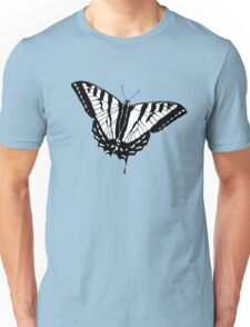 Butterfly - White Unisex T-Shirt