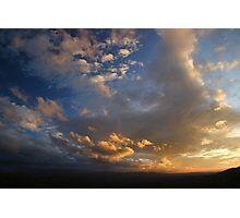 Smoky Mountain Sunset Photographic Print