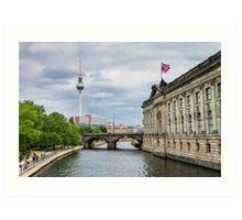 Berlin View Art Print