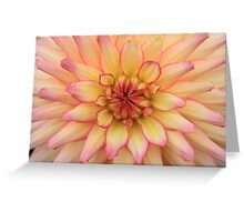 Dahlia - JUSTART © Greeting Card