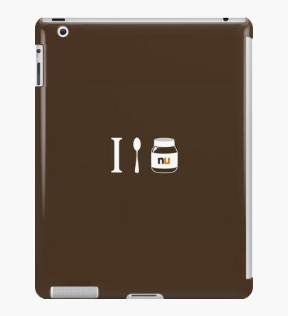 I Soop Nutella iPad Case/Skin