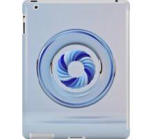 Circle Color Blue iPad Case/Skin