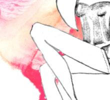 chic lingerie Sticker