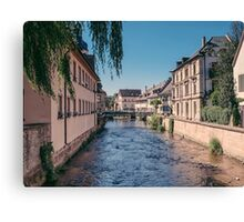 Small town, Germany Canvas Print