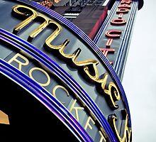 Radio City Music Hall by Jane Terekhov
