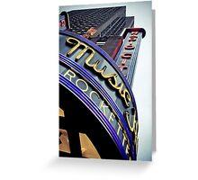 Radio City Music Hall Greeting Card