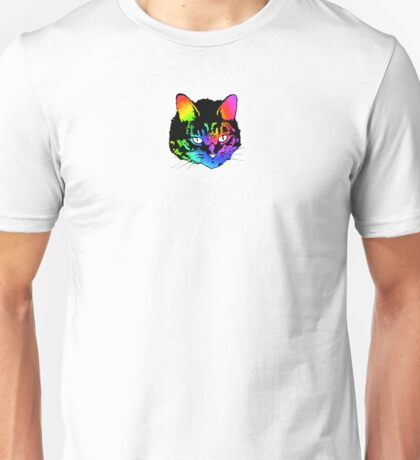 Psychedelic Kitty (ver. 2) Unisex T-Shirt