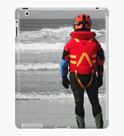 Looking out to sea iPad Case/Skin