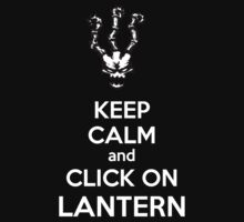 Thresh - League of Legends - Keep Calm and Click On Lantern - White T-Shirt