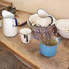 Old Kitchen Utensils by Carol Bleasdale