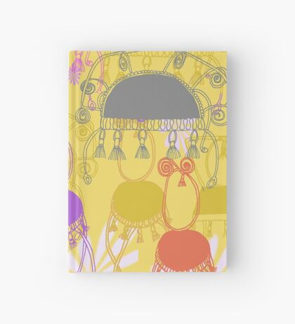 fancy chairs with spirals and tassels Hardcover Journal